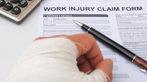 work injury claim form image